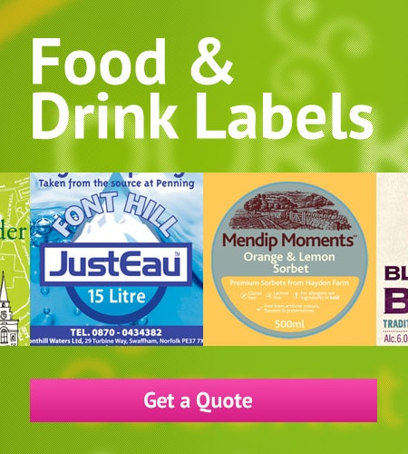 Food & Drink Labels 1