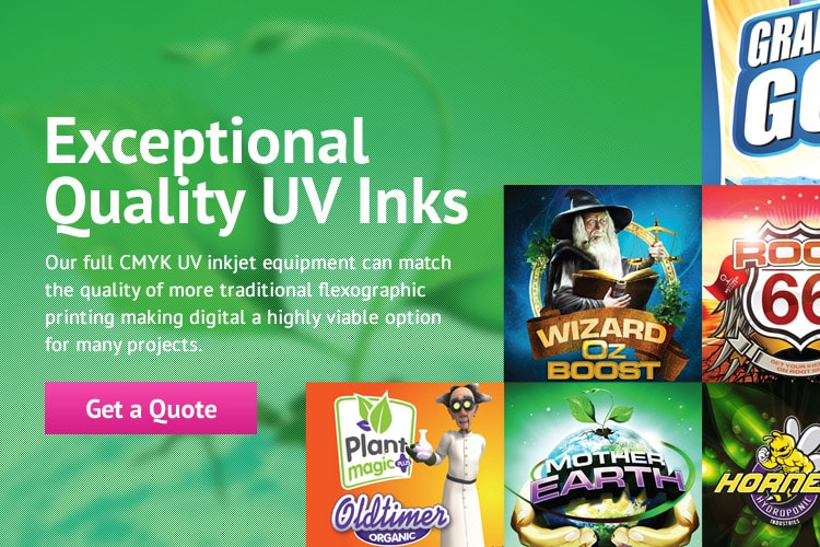 Exceptional Quality UV Inks