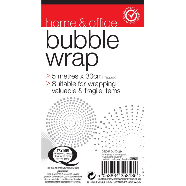 PACK01-Bubble Wrap Labels