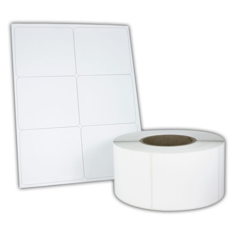 Self Adhesive Plain Labels | FineCal